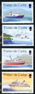 Tristan Da Cunha Sc# 620-623 MNH 1998 Cruise Ships