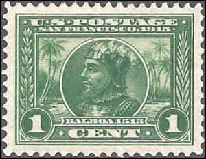 397 Mint,OG,NH... SCV $35.00... XF