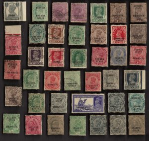 40 CHAMBA (INDIAN STATE) Stamps