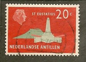 Netherlands Antilles  Scott    248    Obelisk     Used