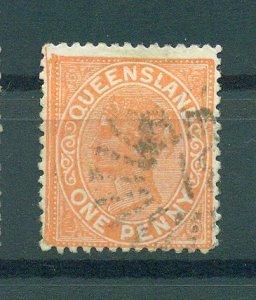 Queensland sc# 94 (2) used cat value $4.75