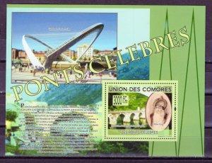COMORO ISLANDS -  2009 Bridges Visegrad, Bosnia and Herzegovina   M2308