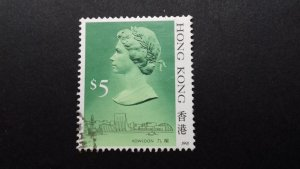 Hong Kong 1991 Queen Elizabeth II Used