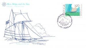 Faroe Islands, Worldwide First Day Cover, Ships