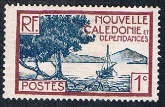 New Caledonia 136 MLH Bay Scene (BP4410)