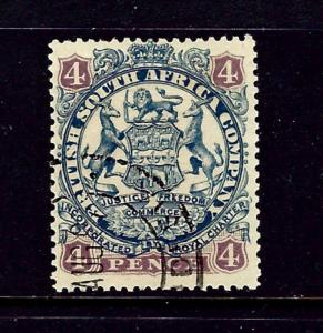 Rhodesia 30 Used 1896 issue