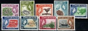 Pitcairn Islands #20-28  MNH  CV $16.30 (X9707)