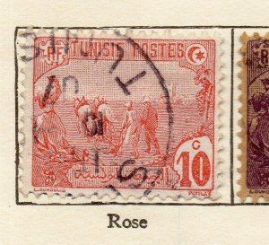 Tunis 1906 Early Issue Fine Used 10c. NW-114593