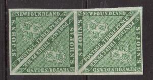 Newfoundland #11a XF Mint Block Of Four