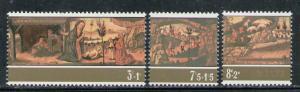 MALTA 1975 MNH SC.B20/B22 Christmas