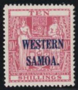 Samoa 1935 SC 177 LH CV