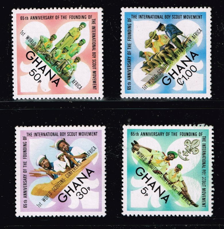 WORLD WIDE Boy Scouts  MNH STAMPS COLLECTION LOT  #2