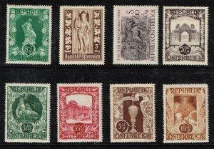 AUSTRIA STAMP MINT SEMI POSTAL Stamps collection lot #L1