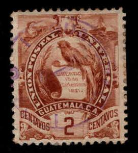 Guatemala  Scott 44 used stamp