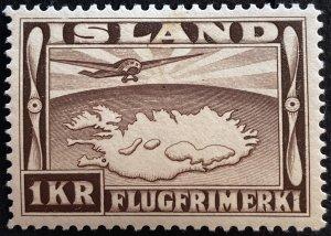 AlexStamps ICELAND #C19 XF Mint