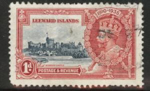 Leeward Islands Scott 96 Used 1935 Silver Jubilee stamp