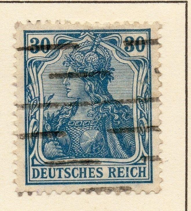 Germany 1920 Weimar Rep. Fine Used 30pf. 119057