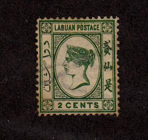 Labuan - 1883-1886 - SC 16 - Used - Queen Victoria