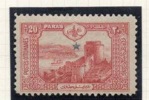 Turkey  1914 Early Issue Fine Mint Hinged 20p. 320868