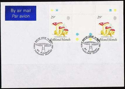 Falkland Islands. 1987 Cover. 29p(Pair) S.G.549  Fine Used