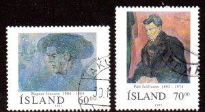 ICELAND 743-4 USED SCV $2.60 BIN $1.05 ART