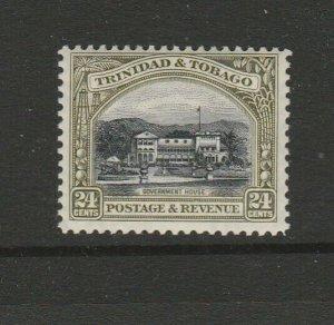 Trinidad & Tobago 1935/7 Defs P12, 24c MM SG 236