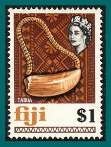 Fiji 1969 Whale's Tooth, MNH #275,SG406
