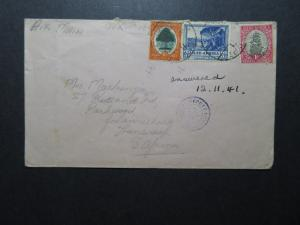 South Africa 1941 Censor Airmail Cover - Z11540