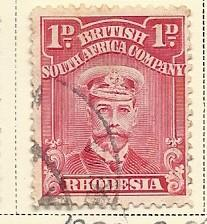 Rhodesia # 120a (U) CV $2.50