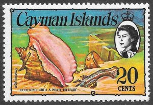 Cayman Islands # 341 Mint Never Hinged