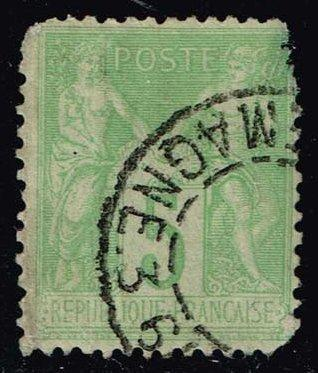 France #105 Peace and Commerce; Used (1.25)
