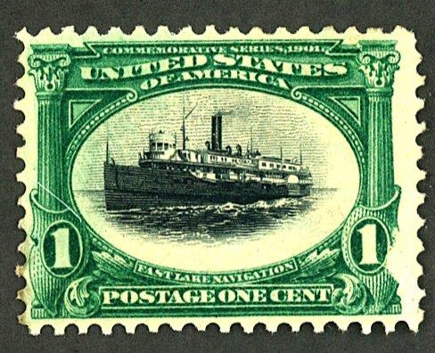 U.S. #294 MINT NG