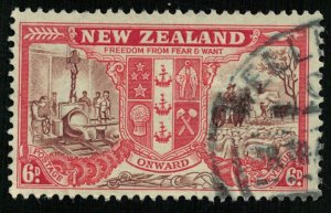 1946, Peace Issue, New Zealand, SG #674 (T-7846)