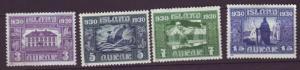 J19138 Jlstamps 1930 iceland mh/mhr #152-4, 156 views