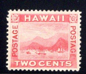 Hawaii #81, mint hinged