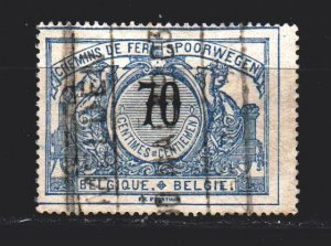 Belgium. 1902. 26. Railway mail. USED.