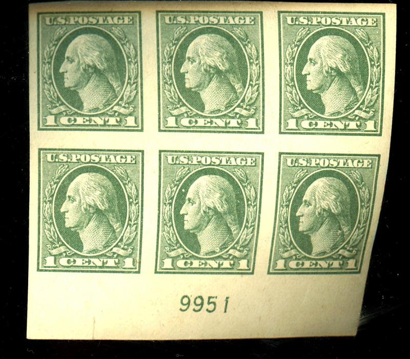 531 MINT Plate Block XF OG LH Cat $125