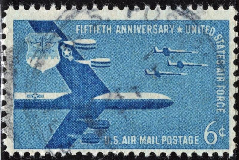 SC#C49 6¢ Air Force Anniversary (1957) Used