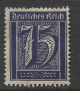 GERMANY. -Scott 170- Definitives -1921- MH - Wmk 126 - Single 75m Stamp