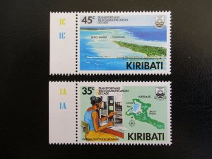 Kiribati #509-10 Mint Never Hinged (M7N4) - Stamp Lives Matter! 2