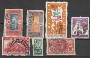 Africa Used lot #191001-5