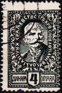 Yugoslavia. 1920 4d S.G.161 Fine Used