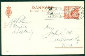 DENMARK 25ore, #155, single card (101) used, VF