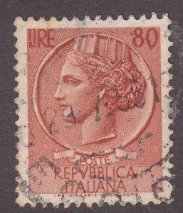 Italy 633 Italia 1953