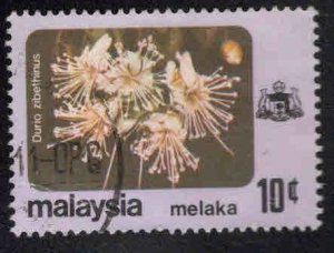 Malaysia Malacca Scott 84 Used Flower stamp