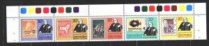 Christmas Island. 1979. 115-9. Fish, stamps on stamps. MNH.