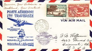 1940, 1st Flt. Noumea, New Caledonia to Auckland, New Zealand,See Remark (32600)