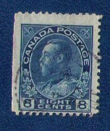 Canada Sc 115 Used KGV F-VF