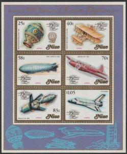 Niue #394a MNH Souvenir Sheet cv $5.50