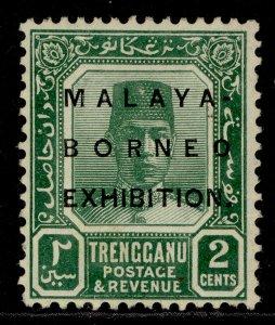 MALAYSIA - Trengganu GV SG48, 2c green, M MINT.